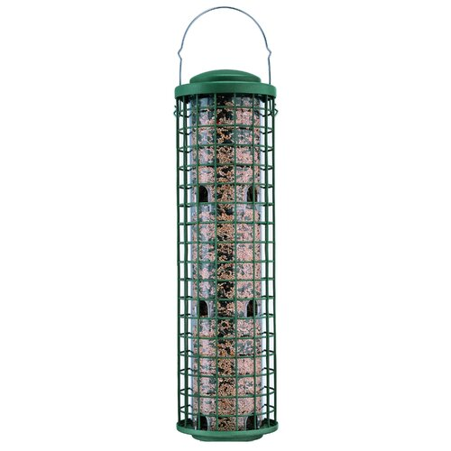 Fortress Squirrel Resistant Caged Bird Feeder