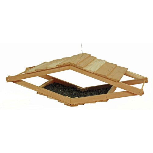 Schrodt Loft Tray Bird Feeder