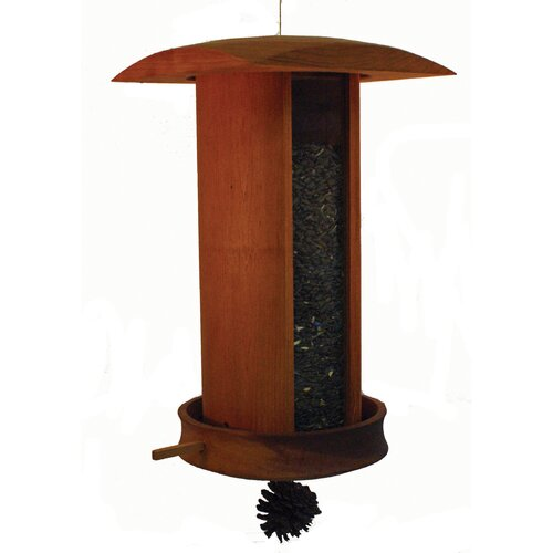 Schrodt Big and Tall Songbird Hopper Bird Feeder