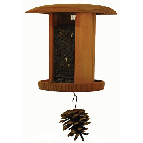 Schrodt Nyjer Songbird Hopper Bird Feeder