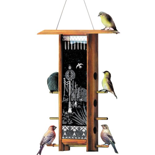 Cactus Dancer Teahouse Hopper Bird Feeder