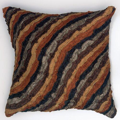 LR Resources Damasi Polyester Pillow