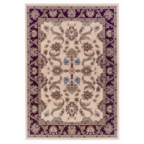LR Resources Adana Cream/Red Rug