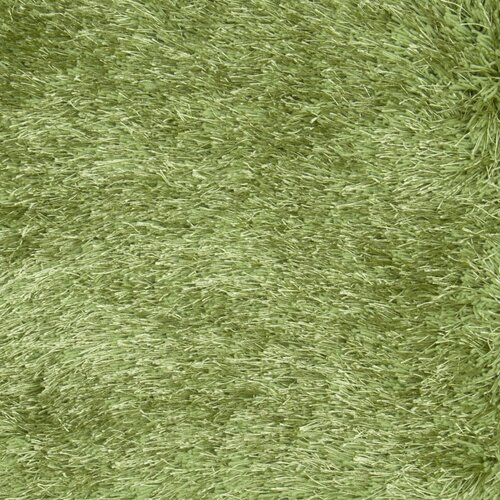 LR Resources Senses Shag Green Rug