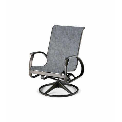 Telescope Casual Cape May Swivel Dining Arm Chair