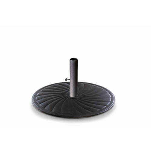 24'' Round Cast Iron Market Umbrella Base