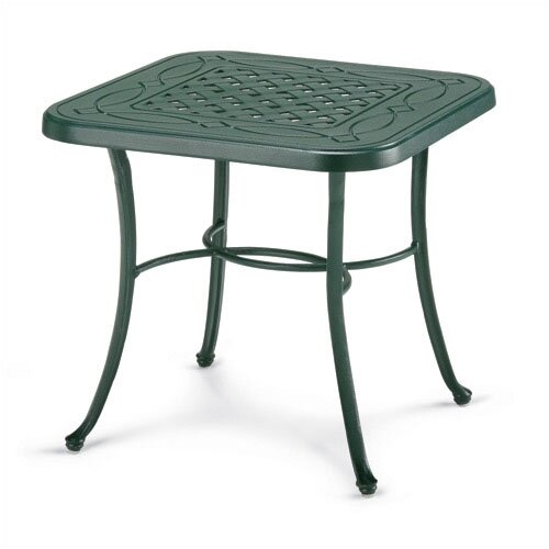 Telescope Casual 22'' Square Cast Aluminum End Table