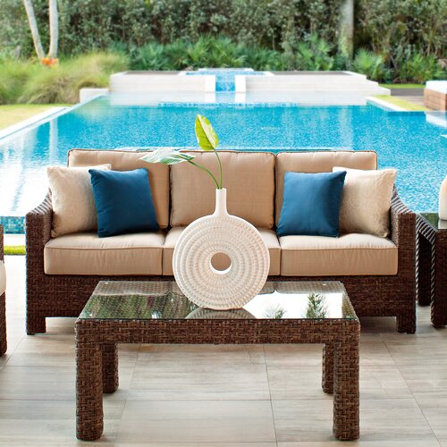 Lake Shore Deep Seating Sofa with Cushions