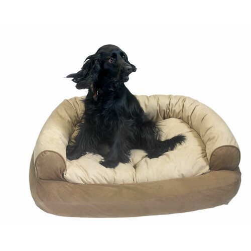 Snoozer Pet Products Overstuffed Luxury Dog Sofa