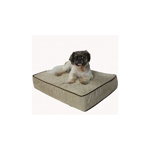 "Snoozer Pet Products Outlast® 3"" Thick Sleep System Dog Pillow"