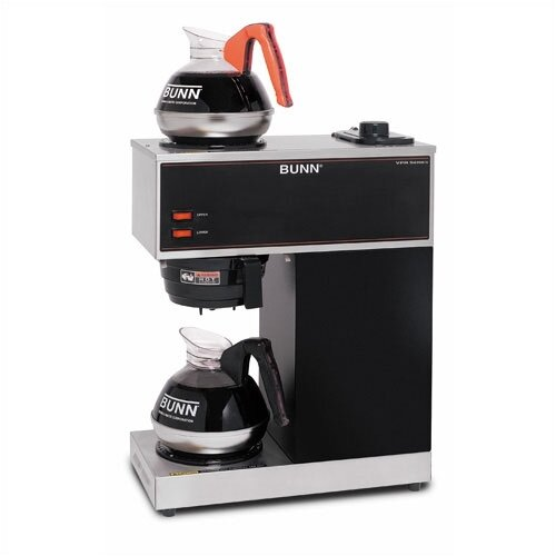 Bunn Pour-O-Matic Two-Burner Pour-Over Coffee Brewer