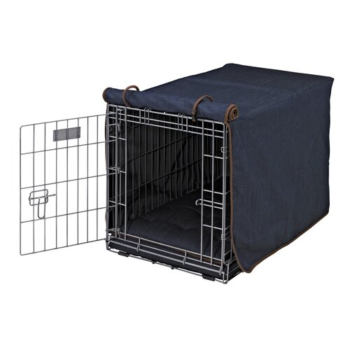 bowsers luxury dog crate cover iii reviews wayfair