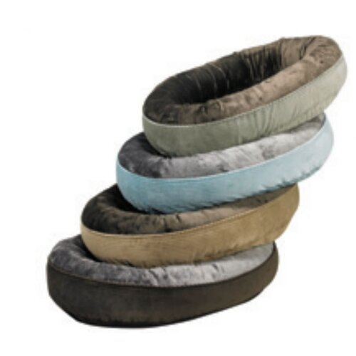 Bowsers Plush Orbit Donut Dog Bed