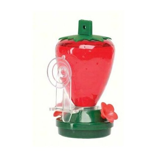 Artline Strawberry Window Decorative Bird Feeder
