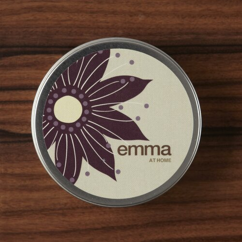 emma at home by Emma Gardner Plumeria Oahu Travel Jar Candle