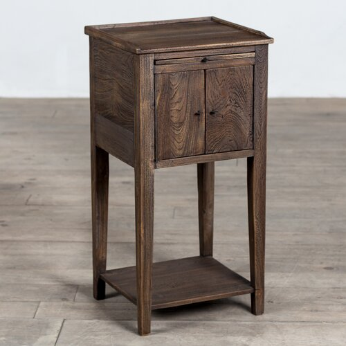 Siletz Handcrafted End Table