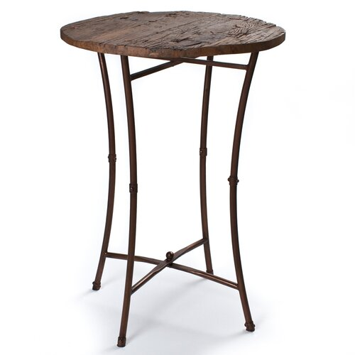 Wooden Top Pub Table