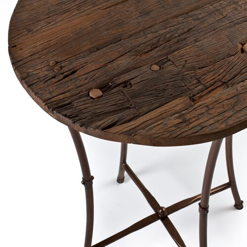 Wildon Home ® Wooden Top Pub Table