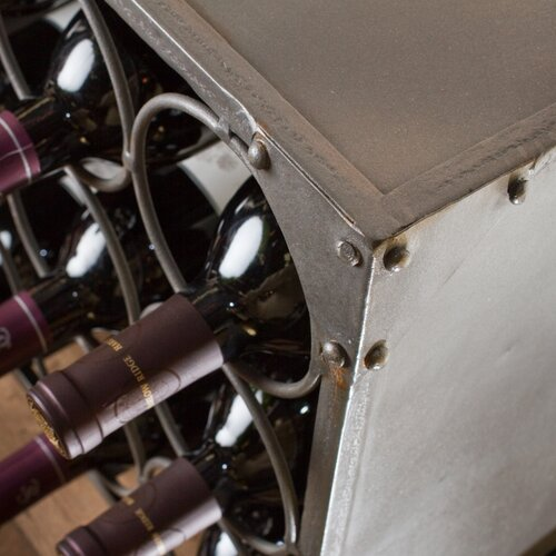 Wildon Home ® 9 Bottle Tabletop Wine Rack