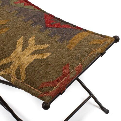 Wildon Home ® Iron Cloth Bench
