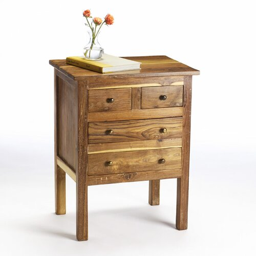 Wildon Home ® Reclaimed Teak End Table