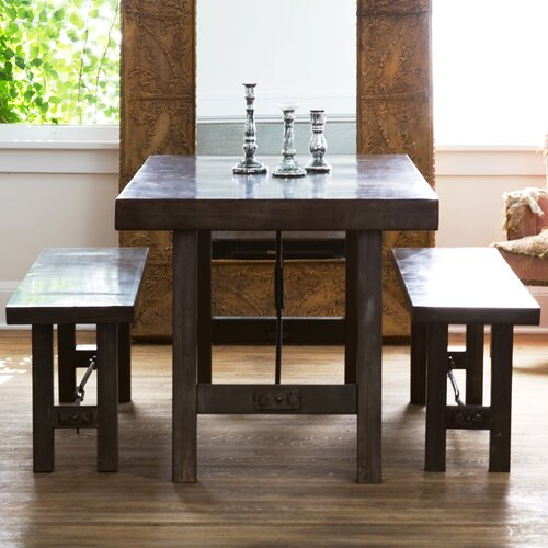 Wildon Home ® Turnbuckle 3 Piece Dining Set