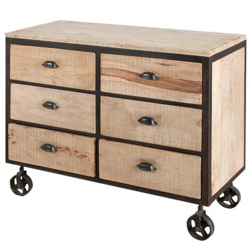 Wildon Home ® Dalhousie 6 Drawer Dresser