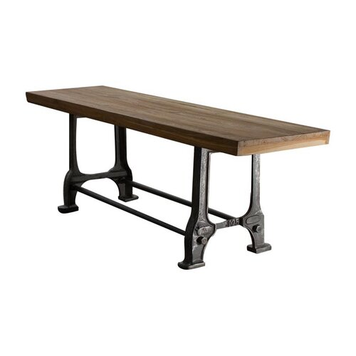 Wildon Home ® Teak and Metal Picnic Bench