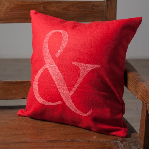 Wildon Home ® Ampersand Accent Pillow