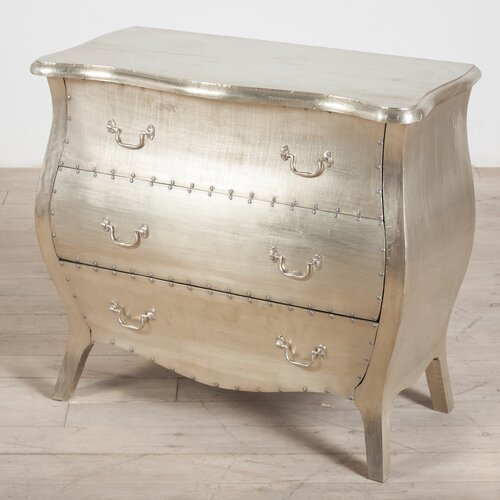 Wildon Home ® Corbett 3 Drawer Dresser