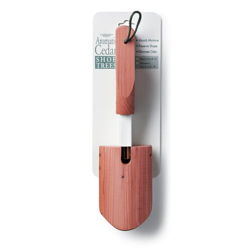 Woodlore Women's One-Size Aromatic Cedar Shoe Tree in Natural Cedar Finish (Set of 2)