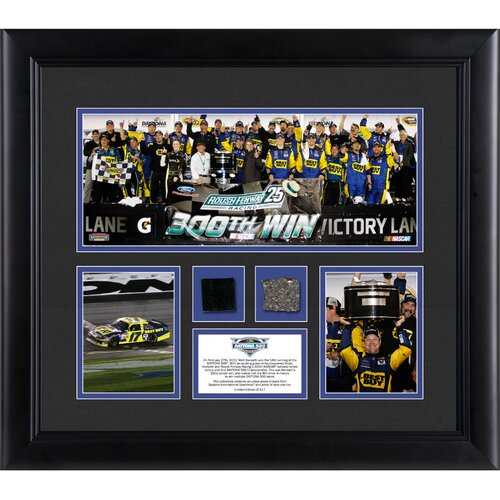 Mounted Memories NASCAR 2012 Daytona 500 Champion 3 Photo Collage Framed Memorabilia