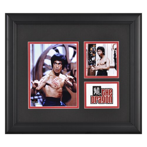 Mounted Memories Bruce Lee 'The Dragon' I Framed Memorabilia