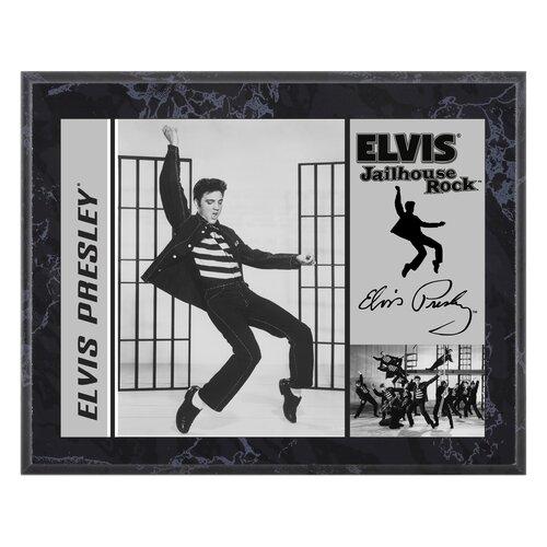 Mounted Memories Elvis Presley 'Jailhouse Rock' Memorabilia Plaque