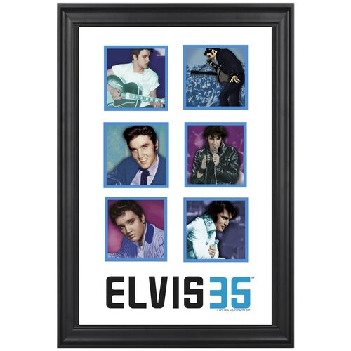 Elvis Presley 35th Anniversary Limited Edition Framed Memorabilia