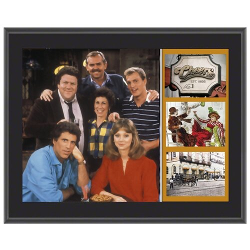 Mounted Memories Cheers Sublimated Memorabilia Plaque