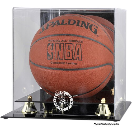 Mounted Memories NBA Golden Classic Logo Basketball Display Case