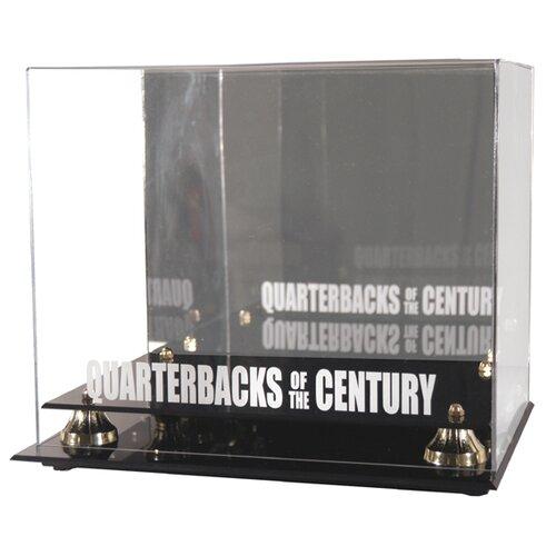 Mounted Memories NFL Quarterback of the Century Helmet Display Case