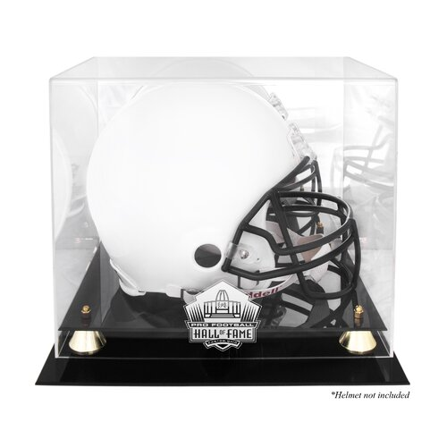 Mounted Memories NFL Pro Football Hall of Fame Logo Helmet Display Case