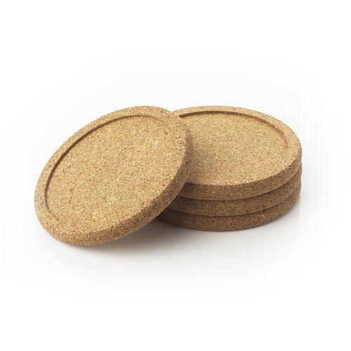 Natural Home Cork Coasters