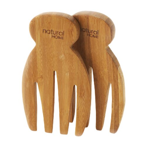 Natural Home Bamboo Salad Hand