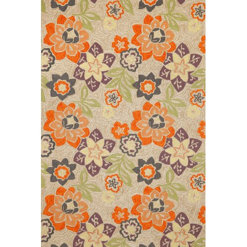 Ravella Purple Floral Outdoor Rug