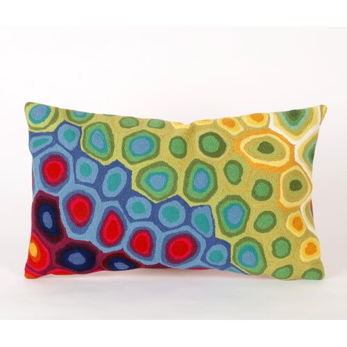 Liora Manne Pop Swirl Rectangle Indoor/Outdoor Pillow