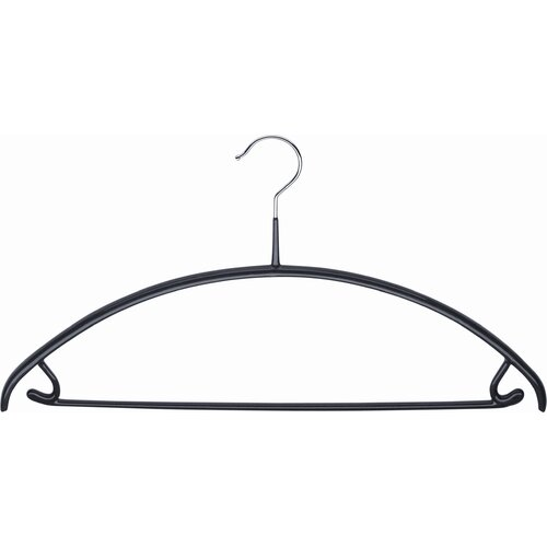 Mawa Economic 42/U Hangers in Black (Pack of 12)