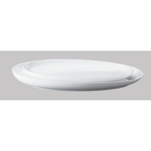 KAHLA Five Senses White Serving Platter
