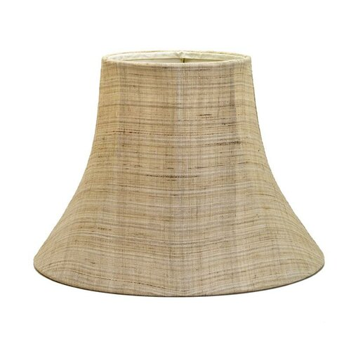 "Deran Lamp Shades 16"" Shantung Soft Bell Shade"