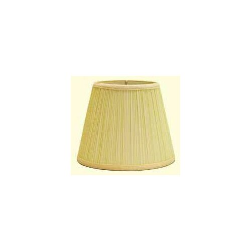 "Deran Lamp Shades 11"" Down Bridge Hard Back Dulcote Mushroom Pleat Empire Shade"