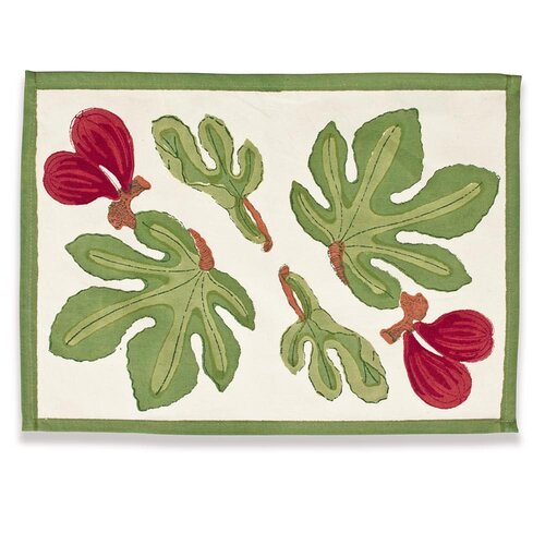 Fig Red Green Placemat
