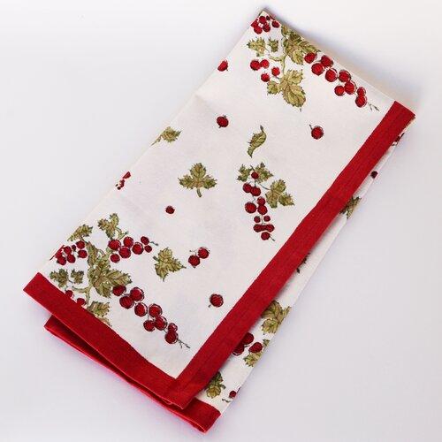 Gooseberry Red Green Tea Towel (Set of 3)