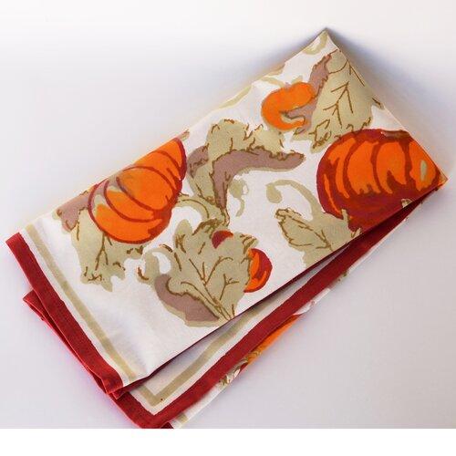 Pumpkin Red Green Tea Towel (Set of 3)